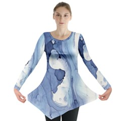 Paint in water Long Sleeve Tunic