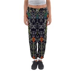Detail Of The Collection s Floral Pattern Women s Jogger Sweatpants