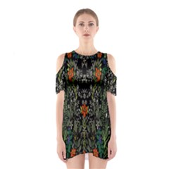 Detail Of The Collection s Floral Pattern Shoulder Cutout One Piece