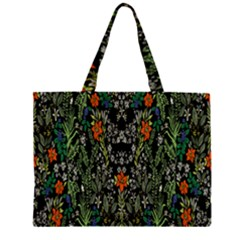 Detail Of The Collection s Floral Pattern Large Tote Bag