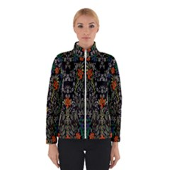 Detail Of The Collection s Floral Pattern Winterwear