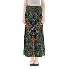 Detail Of The Collection s Floral Pattern Maxi Skirts