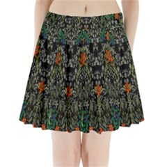 Detail Of The Collection s Floral Pattern Pleated Mini Skirt