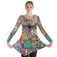 Rol The Film Strip Long Sleeve Tunic