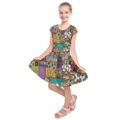 Rol The Film Strip Kids  Short Sleeve Dress