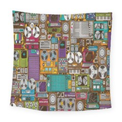 Rol The Film Strip Square Tapestry (large)
