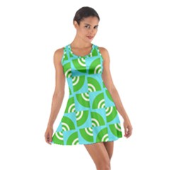 Easy Peasy Lime Squeezy Green Cotton Racerback Dress