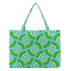 Easy Peasy Lime Squeezy Green Medium Tote Bag