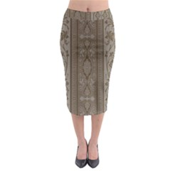 Cool Wall Bedroom Midi Pencil Skirt