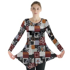 Flower 1 Long Sleeve Tunic