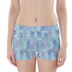 Flower Boyleg Bikini Wrap Bottoms