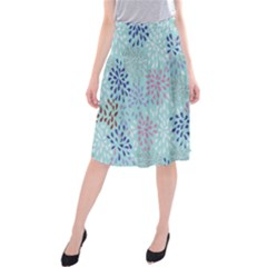 Flower Midi Beach Skirt
