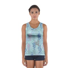 Flower Women s Sport Tank Top