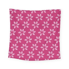 Flower Roses Square Tapestry (small)