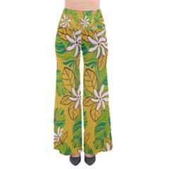 Flower Yellow Pants