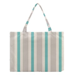 Gray Blue Medium Tote Bag