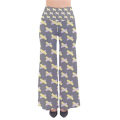 Hearts And Yellow Crossed Washi Tileable Gray Pants