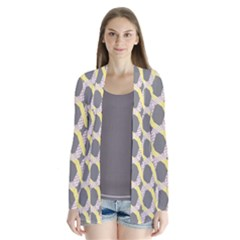 Hearts And Yellow Washi Zigzags Tileable Cardigans