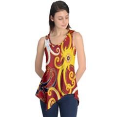 Batik Jogja Java Sleeveless Tunic