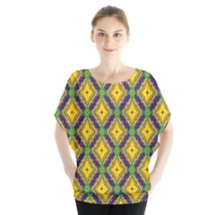 Morocco Flower Yellow Blouse