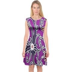 Batik Jogja Capsleeve Midi Dress