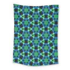 Flower Green Medium Tapestry
