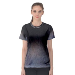 black to gray fade Women s Sport Mesh Tee