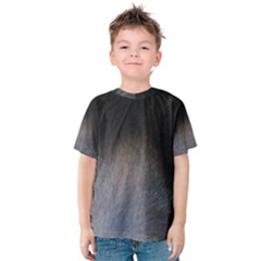 black to gray fade Kids  Cotton Tee