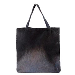 black to gray fade Grocery Tote Bag