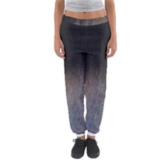 black to gray fade Women s Jogger Sweatpants