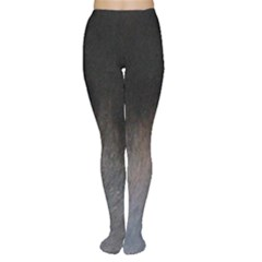 black to gray fade Tights