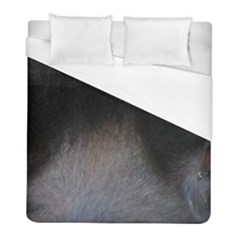 black to gray fade Duvet Cover (Full/ Double Size)