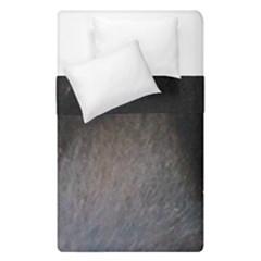 black to gray fade Duvet Cover Double Side (Single Size)