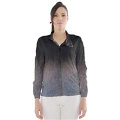 black to gray fade Wind Breaker (Women)