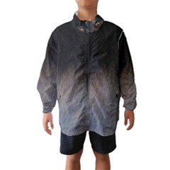 black to gray fade Wind Breaker (Kids)