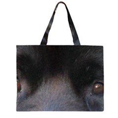 Newfoundland Black Eyes Large Tote Bag
