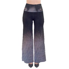 black to gray fade Women s Chic Palazzo Pants
