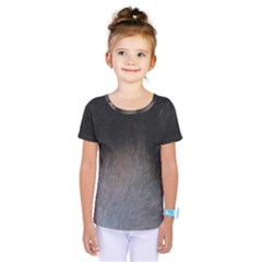 black to gray fade Kids  One Piece Tee