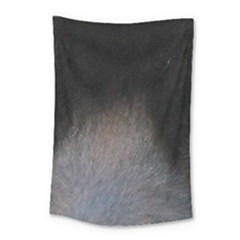 black to gray fade Small Tapestry