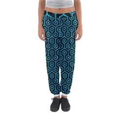 HXG1 BK-TQ MARBLE Women s Jogger Sweatpants