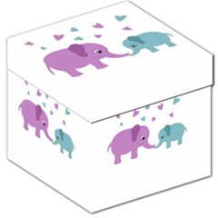 Elephant love Storage Stool 12
