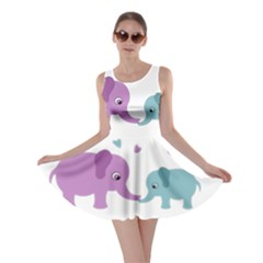 Elephant love Skater Dress
