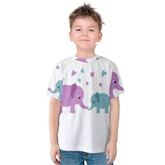 Elephant love Kids  Cotton Tee