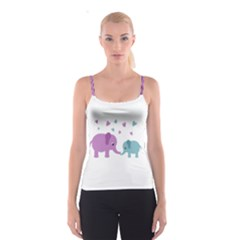 Elephant love Spaghetti Strap Top