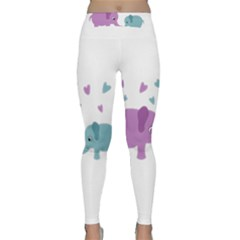 Elephant love Classic Yoga Leggings