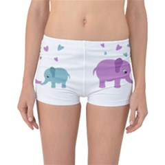 Elephant love Reversible Bikini Bottoms