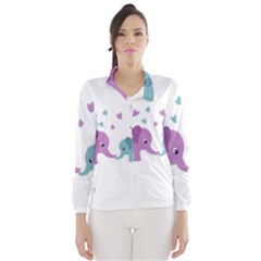 Elephant love Wind Breaker (Women)