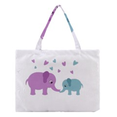Elephant love Medium Tote Bag