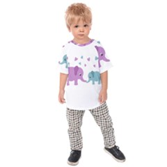 Elephant love Kids  Raglan Tee