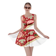 Pizza slice Skater Dress